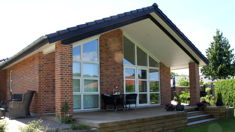 Tilbygning hus i Odense